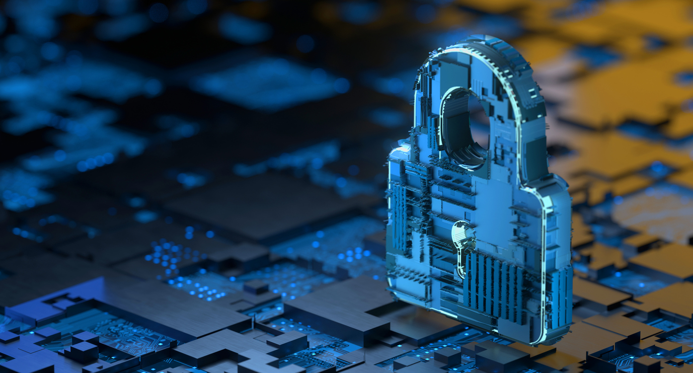 Cybersecurity Digital Technology Security Concept