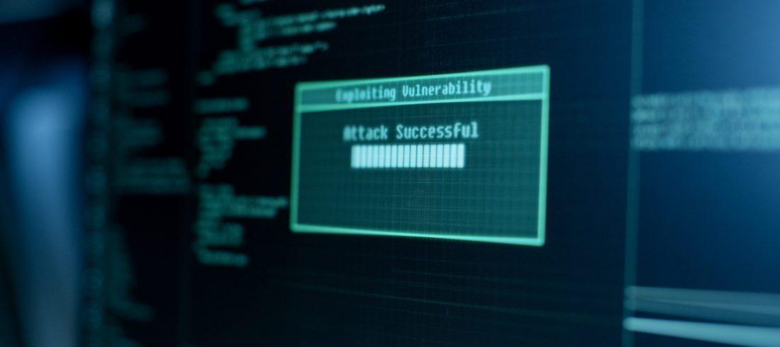 Hacking in progress, attack successful